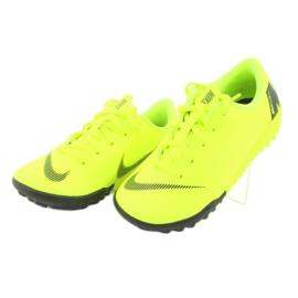 Botas de futebol Nike Mercurial VaporX 12 Academy Tf Jr AH7353-701 amarelo 3
