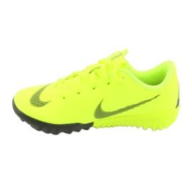 Botas de futebol Nike Mercurial VaporX 12 Academy Tf Jr AH7353-701 amarelo 2