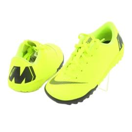 Botas de futebol Nike Mercurial VaporX 12 Academy Tf Jr AH7353-701 amarelo 4
