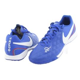 Sapatos de futebol Nike Tiempo Legend 7 Academia 10R Tf M AQ2218-410 azul 4