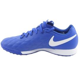 Sapatos de futebol Nike Tiempo Legend 7 Academia 10R Tf M AQ2218-410 azul 2