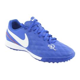 Sapatos de futebol Nike Tiempo Legend 7 Academia 10R Tf M AQ2218-410 azul 1
