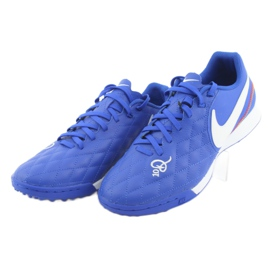 Sapatos de futebol Nike Tiempo Legend 7 Academia 10R Tf M AQ2218-410 azul 3