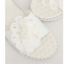 Branco 38822 chinelos femininos brancos 4