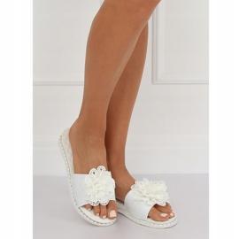 Branco 38822 chinelos femininos brancos 2