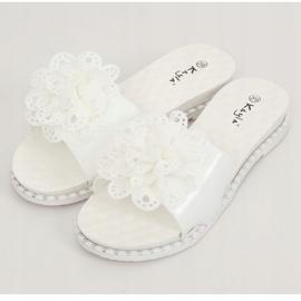 Branco 38822 chinelos femininos brancos 3