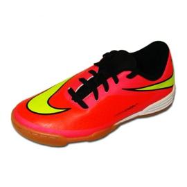 Sapatos de interior Nike Hypervenom Phade Ic Jr 599842-690 vermelho vermelho, rosa 1