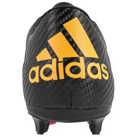 Sapatos de futebol adidas X 15.3 FG / AG M S74633 preto preto 3