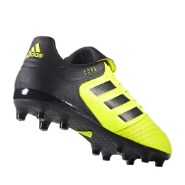 Sapatos de futebol adidas Copa 17.3 Fg M S77143 multicolorido preto, amarelo 1