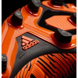 Sapatos de futebol adidas Nemeziz 17.4 FxG M S80610 laranja laranja 3