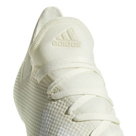 Sapatos de futebol adidas X 18.3 Fg M DB2184 branco branco 3