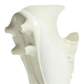 Sapatos de futebol adidas X 18.3 Fg M DB2184 branco branco 4