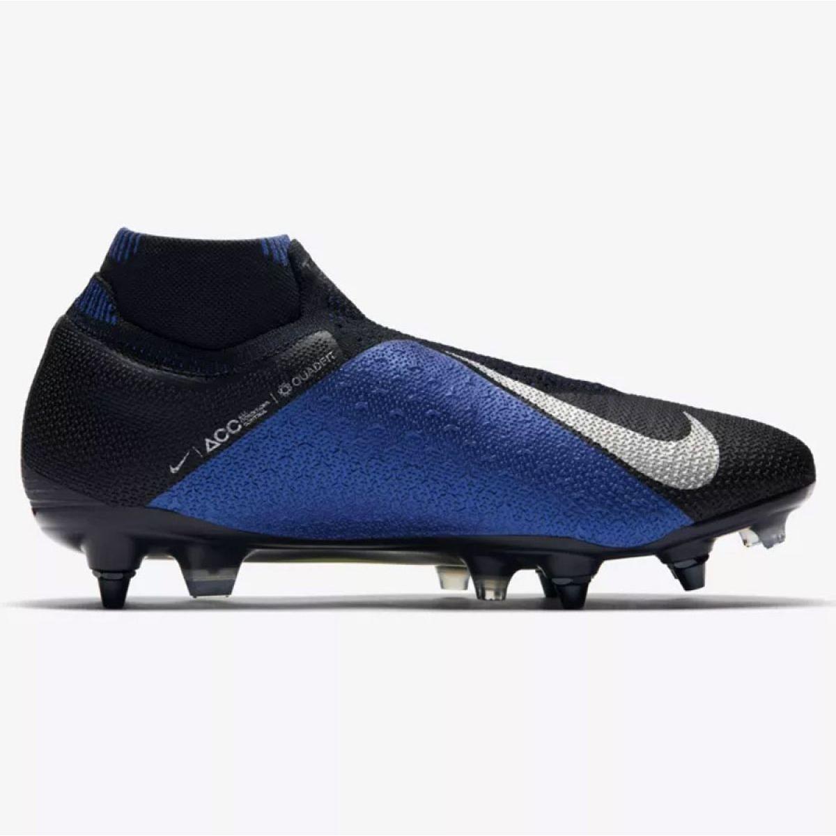 Chuteira Campo Nike Phantom VSN CL AJ6959 410 AzulBranco