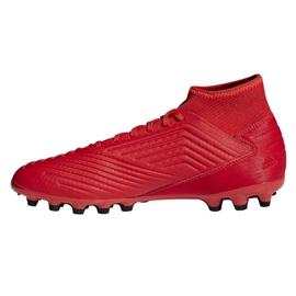 Chuteiras de futebol adidas Predator 19.3 Ag M D97944 vermelho vermelho 1