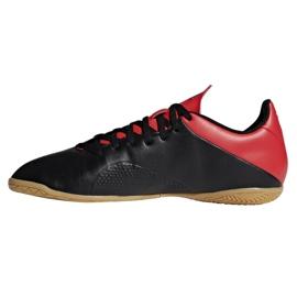 Sapatos de interior adidas X 18.4 In M BB9405 preto preto 1