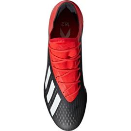 Sapatos de futebol adidas X 18.2 Fg M BB9362 preto preto 1