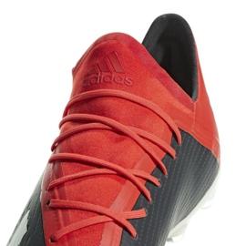 Sapatos de futebol adidas X 18.2 Fg M BB9362 preto preto 5