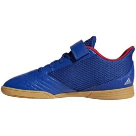 Sapatos Indoor adidas Predator 19.4 Na Sala Jr CM8550 azul azul 1