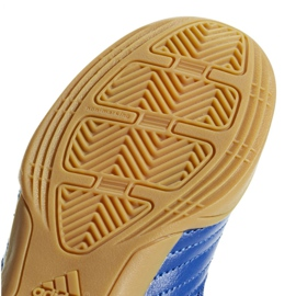 Sapatos Indoor adidas Predator 19.4 Na Sala Jr CM8550 azul azul 5