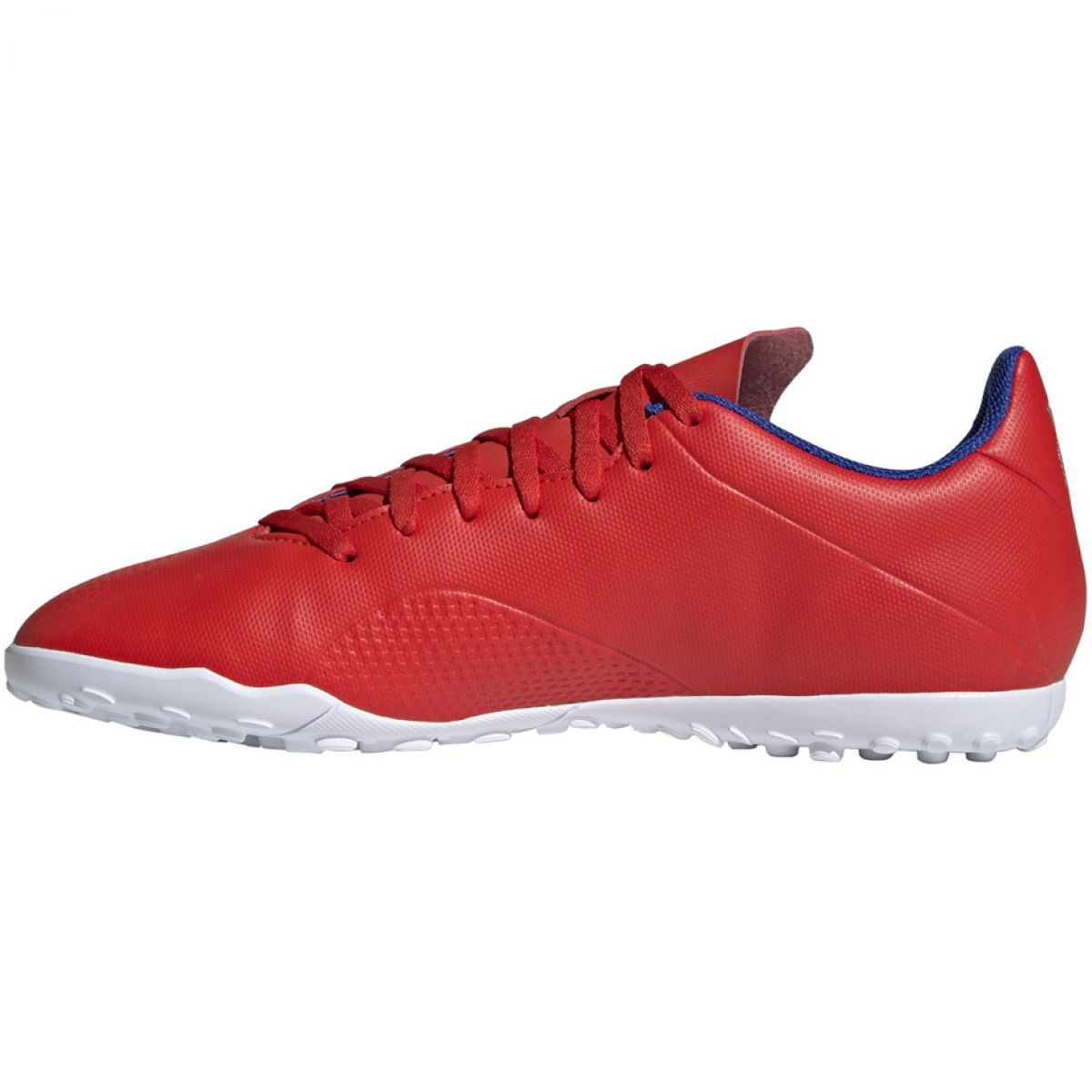 Sapatos de futebol adidas X 18.4 Tf M BB9413 vermelho