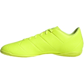 Sapatos de interior adidas Nemeziz 18.4 In M BB9469 amarelo amarelo 2
