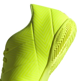 Sapatos de interior adidas Nemeziz 18.4 In M BB9469 amarelo amarelo 4