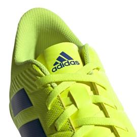 Sapatos de interior adidas Nemeziz 18.4 In M BB9469 amarelo amarelo 6