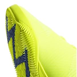Sapatos de interior adidas Nemeziz 18.3 Em M BB9461 amarelo amarelo 3