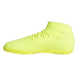 Sapatos de interior adidas Nemeziz 18.3 In Jr CM8512 amarelo amarelo 1
