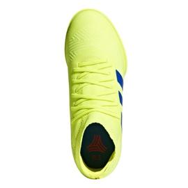 Sapatos de interior adidas Nemeziz 18.3 In Jr CM8512 amarelo amarelo 2