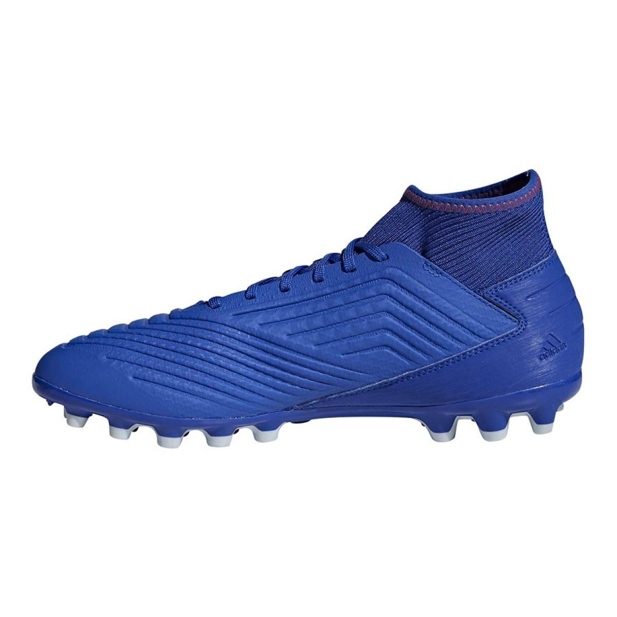 Chuteiras de futebol adidas Predator 19.3 Ag M BC0297 azul azul
