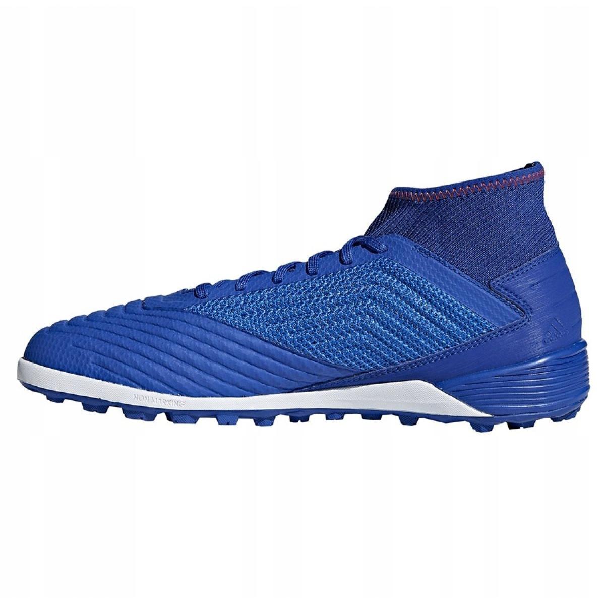 Chuteiras de futebol adidas Predator 19.3 Tf M BB9084 azul azul