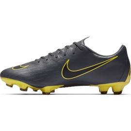 Botas de futebol Nike Mercurial Vapor 12 Pro Fg M AH7382-070 cinza cinza / prata 1