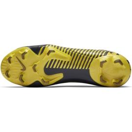 Botas de futebol Nike Mercurial Vapor 12 Pro Fg M AH7382-070 cinza cinza / prata 3