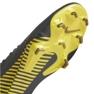 Botas de futebol Nike Mercurial Vapor 12 Pro Fg M AH7382-070 cinza cinza / prata 4