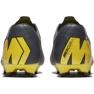 Botas de futebol Nike Mercurial Vapor 12 Pro Fg M AH7382-070 cinza cinza / prata 6