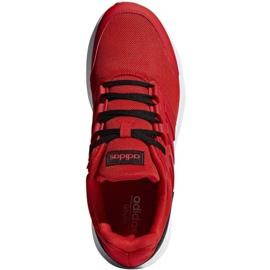 Tênis de corrida adidas Galaxy 4 M F36160 vermelho 1