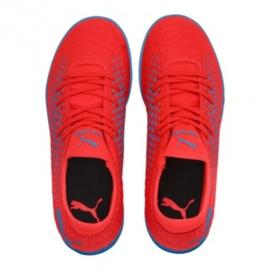 Chuteiras de futebol Puma Future 19.4 Tt Jr 105558 01 vermelho vermelho 1