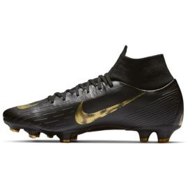 Sapatos de futebol Nike Mercurial Superfly 6 Pro Fg M AH7368-077 preto preto 1