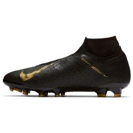 Sapatos de futebol Nike Phantom Elite Vsn Df Fg M AO3262-077 preto preto 1