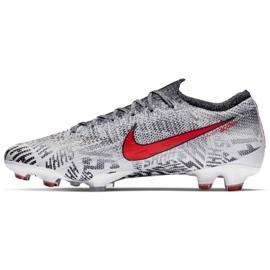 Sapatilhas Nike Merurial Vapor 12 Elite Neymar Fg M AO3126-170 cinza branco 1