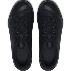 Tênis Nike Mercurial Vapor X 12 Clube Tf Jr AH7355-001 Futebol preto azul marinho, preto 2
