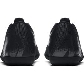 Tênis Nike Mercurial Vapor X 12 Clube Tf Jr AH7355-001 Futebol preto azul marinho, preto 4