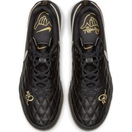 Sapatos de interior Nike Tiempo Legend X 7 Academia 10R Ic M AQ2217-027 preto preto 1