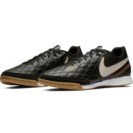 Sapatos de interior Nike Tiempo Legend X 7 Academia 10R Ic M AQ2217-027 preto preto 3