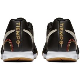 Sapatos de interior Nike Tiempo Legend X 7 Academia 10R Ic M AQ2217-027 preto preto 4