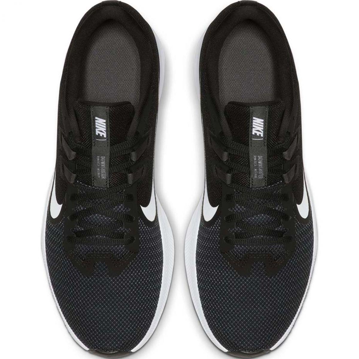Tênis de corrida Nike Downshifter 9 M AQ7481 002 preto
