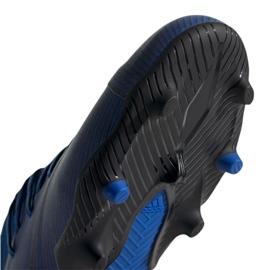 Chuteiras de futebol adidas Nemeziz 19.1 Fg Jr CF99957 azul azul 2
