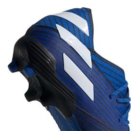 Chuteiras de futebol adidas Nemeziz 19.1 Fg Jr CF99957 azul azul 5