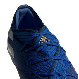 Chuteiras de futebol adidas Nemeziz 19.1 Fg Jr CF99957 azul azul 6